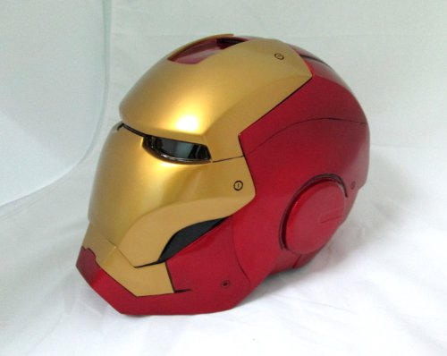 Iron Man Mark VII,III Cosplay Helmet 1/1 Scale Unopen Face