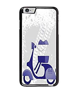 Fuson Scooter Pattern Back Case Cover for APPLE IPHONE 6 PLUS - D4030