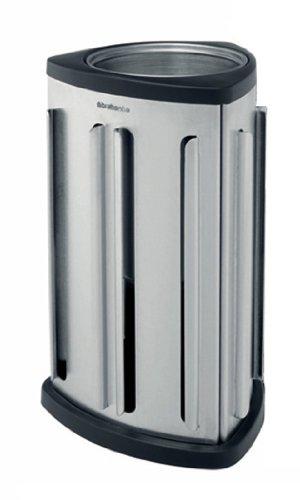Brabantia 418709 Nespresso Coffee Capsule Dispenser- Matte Steel Finish- Set Of 2