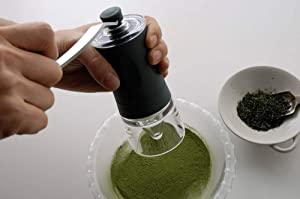 京セラ 【緑茶のカテキン・ビタミンをまるごと摂取!】 セラミックお茶ミル 緑茶(煎茶)専用 CM-45GT
