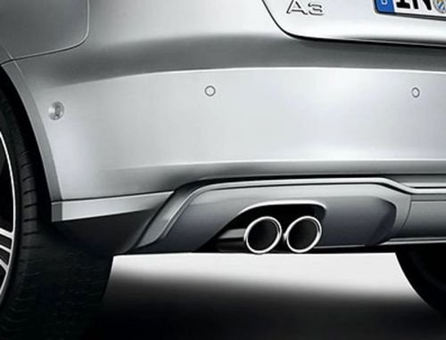 Endrohre Audi A3 Original Blende Auspuff Tuning Zubehör Chrom
