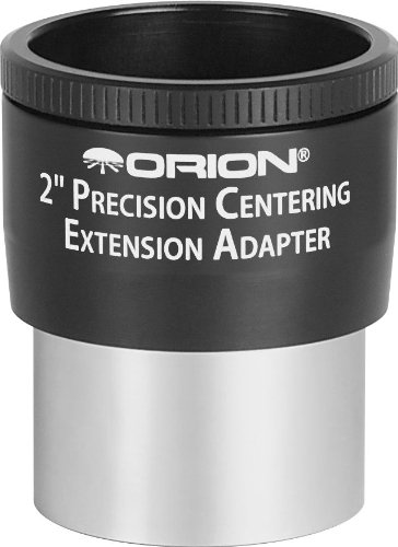 Orion 52087 2-Inch Precision Centering Extension Adapter (Black)