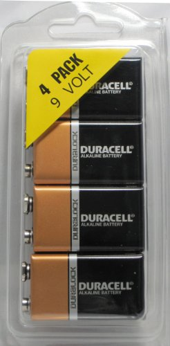 Duracell MN1604 9 Volt, 4 Pack (Fire Alarm Battery compare prices)