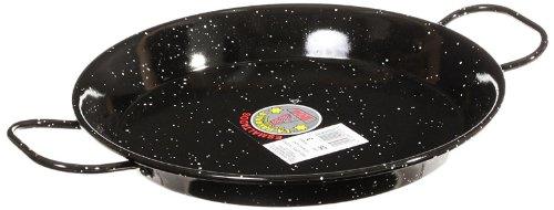 Garcima 11-Inch Enameled Steel Paella Pan, 28cm