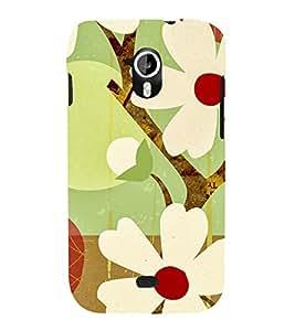 Fantastic Flowers 3D Hard Polycarbonate Designer Back Case Cover for Micromax Canvas HD A116 :: Micromax Canvas HD Plus A116Q