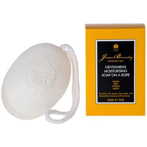 James Bronnley Gentlemens Moiturising Soap on a Rope, 7 Oz