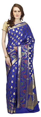 Banarasi-Silk-Works-Womens-Silk-Banarasi-Saree-Blue