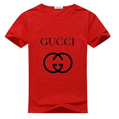 Gucci The Pop 2016 Logo Mens Printed Shirts