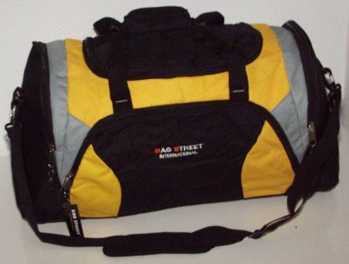 Sport- und Reisetasche gelb/schwarz