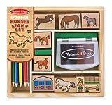 Horses Stamp Set - (Child) $12.50