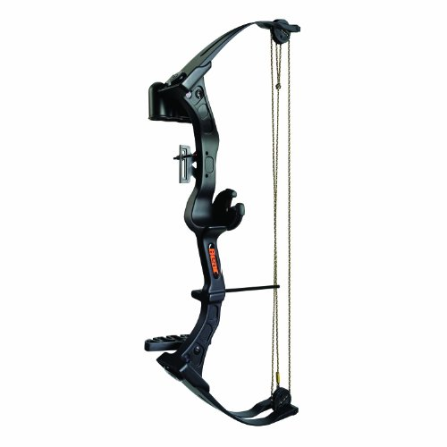 Bear Archery Right Hand Brave 3 Bow Set (Black)