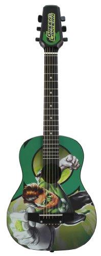 Peavey 03020680 Dc Green Lantern 1/2 Size Acoustic Guitar