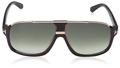 Tom Ford Men S Elliot Sunglasses In Matte Black Gradient