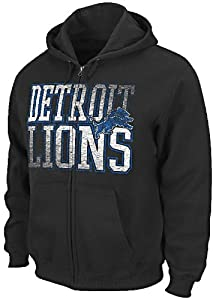 Detroit Lions Touchback V Mens Full-Zip Hoody Sweatshirt by VF by VF