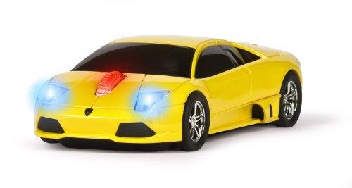 Lamborghini Murcielago Wireless Computer Mouse - Yellow