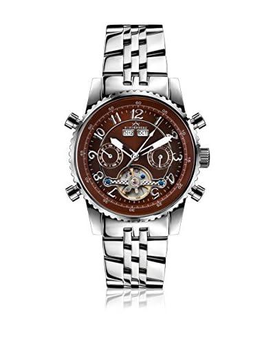 Hindenberg Reloj 230-H Air Professional Stahl Plateado 42 mm
