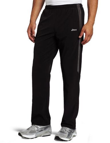 ASICS Asics Men's Stretch Woven Pant, Black/Iron, Small