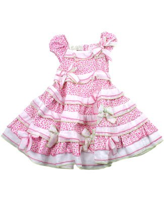 Biscotti Pink Floral Layered Sachet Dress - Buy Biscotti Pink Floral Layered Sachet Dress - Purchase Biscotti Pink Floral Layered Sachet Dress (Biscotti, Biscotti Apparel, Biscotti Toddler Girls Apparel, Apparel, Departments, Kids & Baby, Infants & Toddlers, Girls, Skirts, Dresses & Jumpers, Dresses)
