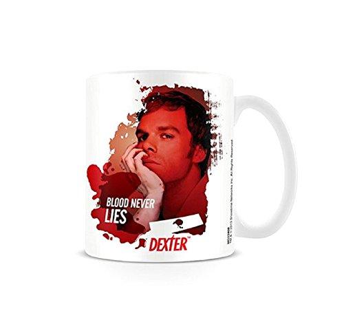 Dexter blood never lies New Official Boxed Mug