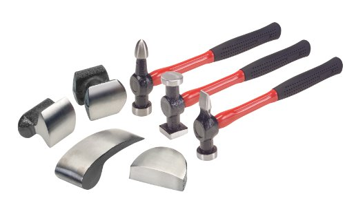 TEKTON 5655 Deluxe Auto Body Repair Kit, 7-Piece 