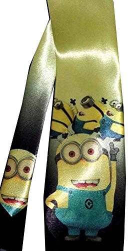 LK-Dancing-Minions-Satin-Neck-tie-Despicable-Me