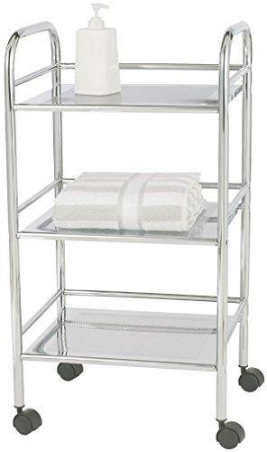 Wenko 12285100 Carrello trasportabile da bagno o da cucina esclusivo 3 ripiani cromato 41x75x32 cm PDF