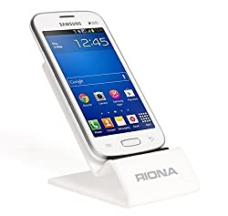 Riona Universal Acrylic Mobile Holder / Stand - MobiHold A4S White MH-A4S-W