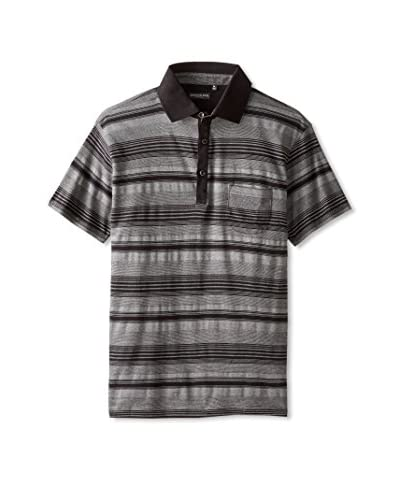 London Fog Men's Yd Stripe Fashion Polo