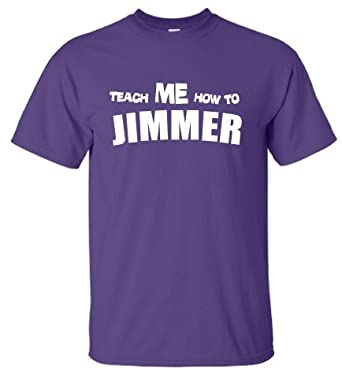 Youth Purple Teach Me How to Jimmer T-shirt - YXL 18-20