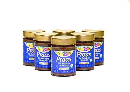 Ayurbest Praas / Chyawanprash - 100% Usda Organic Certified Herbal Jam, 14 Oz Ea, Pack Of 6 Jars, Made In Usa