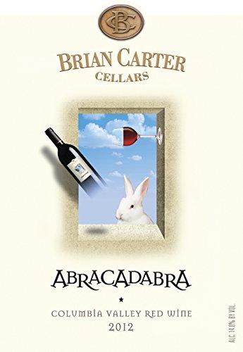 "2012 Brian Carter Cellars ""Abracadabra"" A Magical Red Blend 750 Ml"