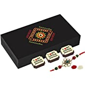 Rakhi Gifts For Brother - 6 Chocolate Gift Box - Rakhi Gifts India With Rakhi
