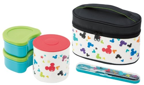 thermos lunch box bento jar thermal keep warm disney micky mouse japan ebay. Black Bedroom Furniture Sets. Home Design Ideas