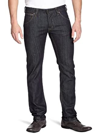 Lee - Powell royal rinse -  Jeans  slim - Homme - Brut Denim - Bleu Fonc - 32Wx32L