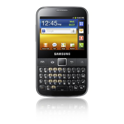 Samsung Galaxy Y Pro B5510 Gray Unlocked Touchscreen Qwerty Keyboard Android V2.