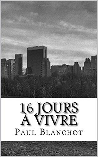 Couverture du livre 16 jours à vivre
