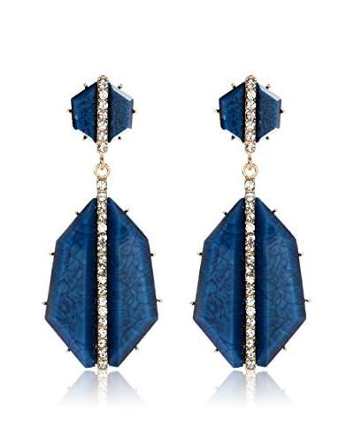 Amrita Singh Pendientes Art Deco Turquoise