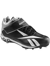 Reebok Brushback Mid Hex Metal Baseball Shoes Sz 11.5