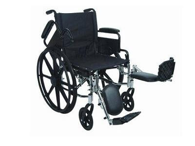 Stylish Ultralight Extra Wide Adult Wheelchair