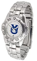 Xavier Musketeers Suntime Ladies Sports Watch w/ Steel Band - NCAA College Athletics