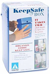 """Miracle Point Keep Safe Box 6.5""""X3.75""""X3.75"""""""