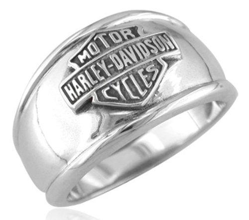 Harley-Davidson .925 Silver Cigar B&S Ring (12)