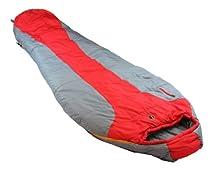 Ledge Sports FeatherLite +20 F Degree Ultra Light Design, Ultra Compact Sleeping Bag (84 X 32 X 20, Red)