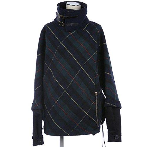 Amazon.co.jp: Manila Grace マニラグレース タータンチェック 中綿 切替 ショートコート レディース (14-15AW) グリーン 38サイズ: Amazonファッション通販