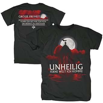 Bravado Unheilig - Ferne Welt ich komme 4844412 Unisex - Erwachsene Shirts/ T-Shirts, Gr. 38/40 (M), Schwarz (schwarz)