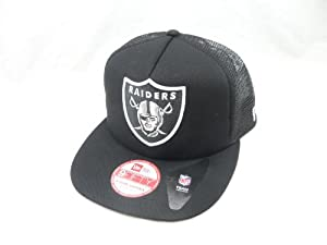 New Era 9FIFTY Snapback Hat Basic Mesh Oakland Raiders NFL by New Era