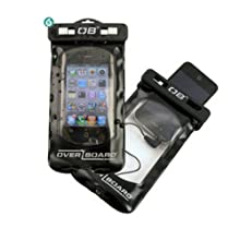 Waterproof Cell Phone Case by Overboard for Straight Talk LG Optimus ShowTime L86c with Headset Jack