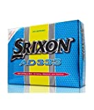New Srixon AD333 Yellow Balls - 1 Dozen