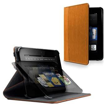 """Marware Vibe Standing Case for Kindle Fire HD 8.9"""", Orange (will not fit HDX models)"""