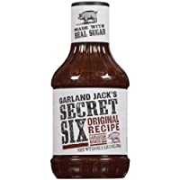 Kraft Garland Jack's BBQ Sauce, Original Recipe, 18 Ounce (Pack of 6)